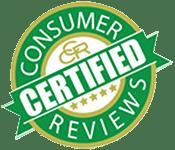 Certified Consumer Reviews logo