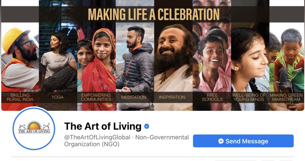 Art of Living Facebook Cover